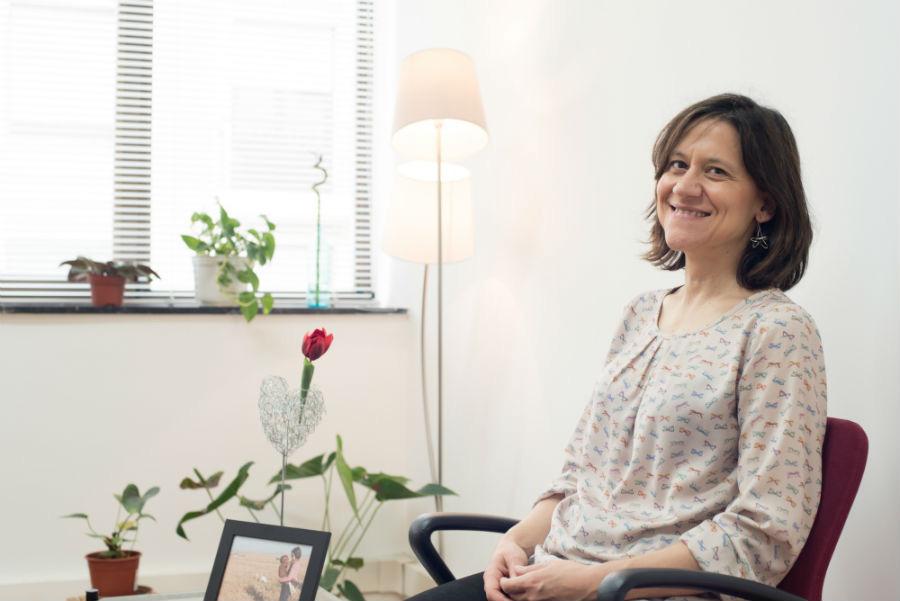 Adelaida Navaridas psicóloga en Amare Psicologia de Bilbao